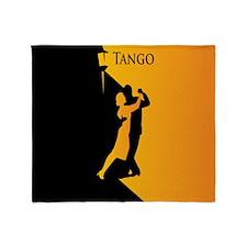 Tango Lovers Throw Blanket