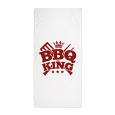 BBQ KING Beach Towel