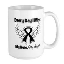Melanoma Miss My Hero Mug