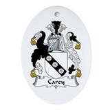 Carey Oval Ornament