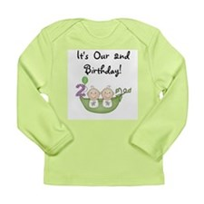 TWINSSECONDBDAY Long Sleeve T-Shirt