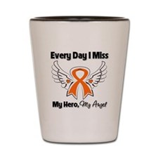 Kidney Cancer Miss My Hero Shot Glass