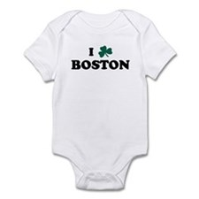 I Shamrock BOSTON Infant Bodysuit