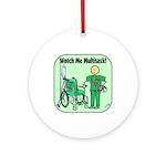 Nurse Multitask Ornament (Round)