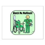 Nurse Multitask Small Poster