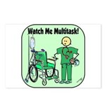 Nurse Multitask Postcards (Package of 8)