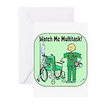Nurse Multitask Greeting Cards (Pk of 10)