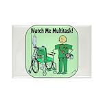 Nurse Multitask Rectangle Magnet (100 pack)