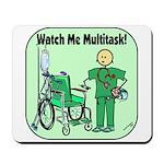 Nurse Multitask Mousepad