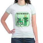 Nurse Multitask Jr. Ringer T-Shirt