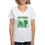 Nurse Multitask Women's V-Neck T-Shirt