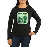 Nurse Multitask Women's Long Sleeve Dark T-Shirt