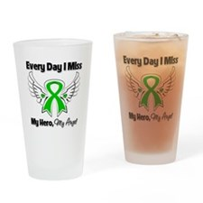 Bile Duct Cancer Miss My Hero Drinking Glass
