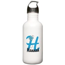 Personalized Initial H Monogram Water Bottle