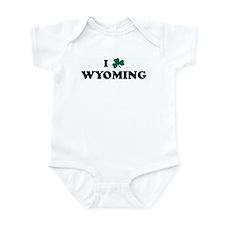 I Shamrock WYOMING Infant Bodysuit