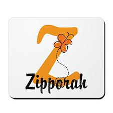 Custom Z Monogram Mousepad