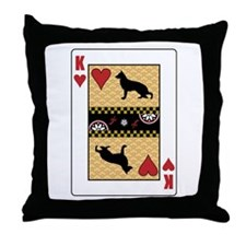 King Shiloh Throw Pillow