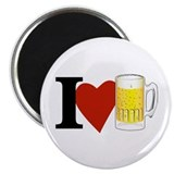 I Love Beer Magnet