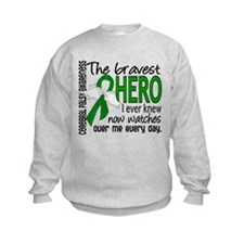 Bravest Hero I Knew Cerebral Palsy Sweatshirt