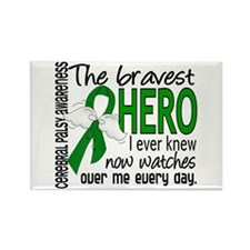 Bravest Hero I Knew Cerebral Pals Rectangle Magnet