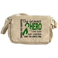 Bravest Hero I Knew Cerebral Palsy Messenger Bag