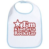 I'm Kind of a Rockstar Bib
