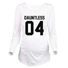 Dauntless Four Long Sleeve Maternity T-Shirt