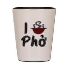 I Eat Pho Shot Glass