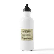 February 18th Water Bottle