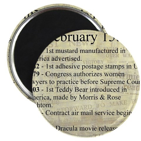 February 15th Magnets