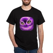 Pink Owl Eyes T-Shirt