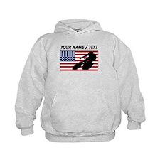 Custom Cycling American Flag Hoody