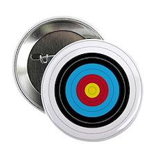 """Archery Target 2.25&Quot; 2.25"""" Button"""