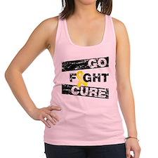 Go Fight Cure Endometriosis Racerback Tank Top