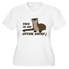 This Is My Otter Shirt Other Shirt Plus Size T-Shi