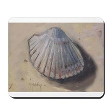 Seashell Cockle Shell Beach Mousepad