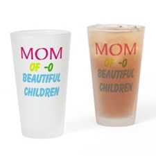 Mother Of ( Personalize number ) Ch Drinking Glass