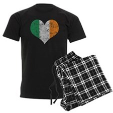 Flag of Ireland Heart Pajamas