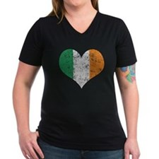 Flag of Ireland Heart T-Shirt