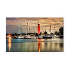 Ponce Inlet Lighthouse in FL Rectangle Car Magnet