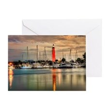 Ponce Inlet Lighthouse in FL Greeting Card
