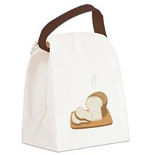 Loaf Bread Canvas Lunch Bag
