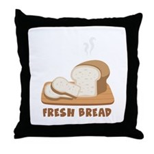 Fresh Bread Throw Pillow