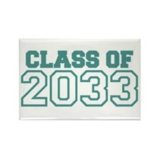Class of 2033 Rectangle Magnet
