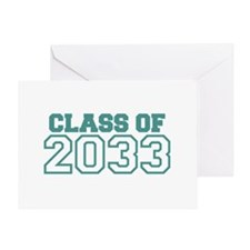 Class of 2033 Greeting Card