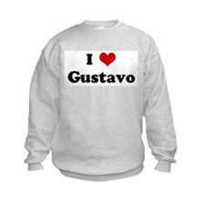 I Love Gustavo Sweatshirt