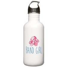 Band Girl Cymbals Water Bottle
