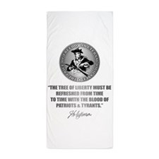 (Eternal Vigilance) Blood of Patriots Beach Towel