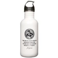 (Eternal Vigilance) Blood of Patriots Water Bottle