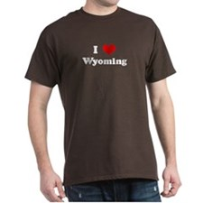 I Love Wyoming -  T-Shirt